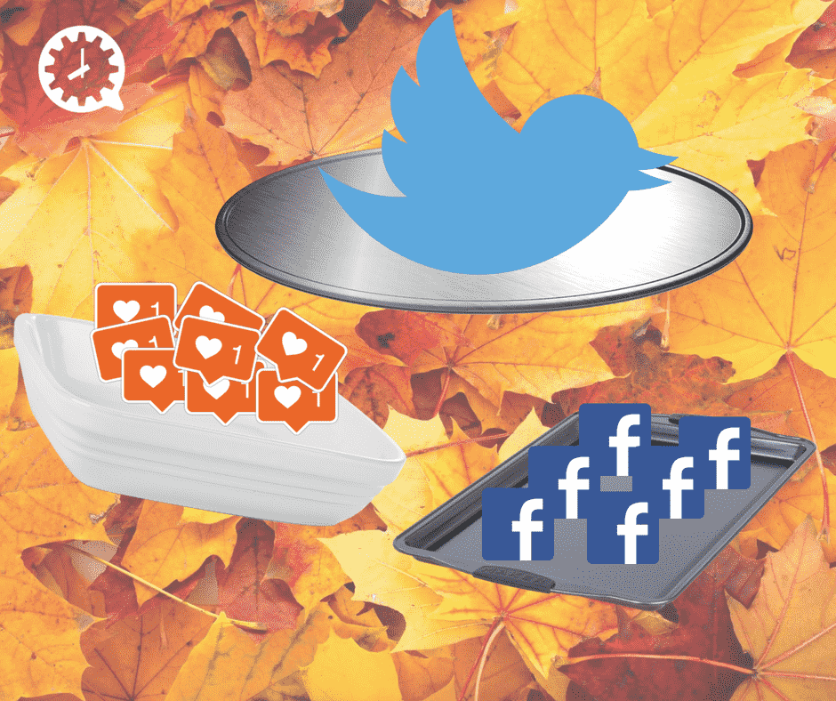 Thanksgiving and social media images